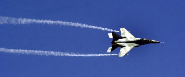 Putins jagerfly settes p� bakken