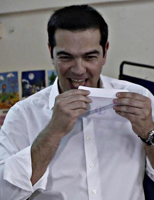 Tsipras: Hellas avgj�r sin skjebne i folkeavstemningen