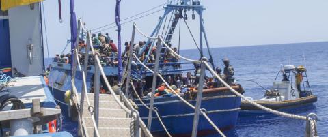 Norske skip har reddet 5000 flyktninger i Middelhavet