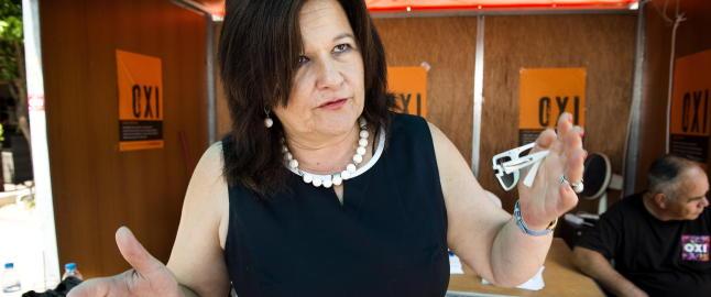 Syriza-politiker til Dagbladet: - Nei, nei, nei, det blir ingen �Grexit�