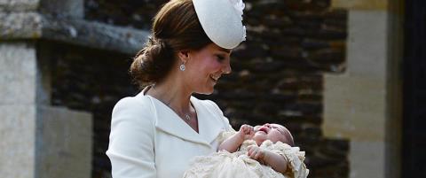 Prinsesse Charlotte er d�pt