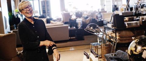 Sunnm�ringer tjener fett p� luksusm�bler