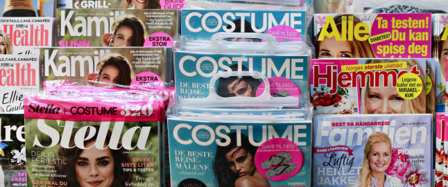 Forfatter raser mot magasinbransjen - mener modellmangfoldet er for d�rlig