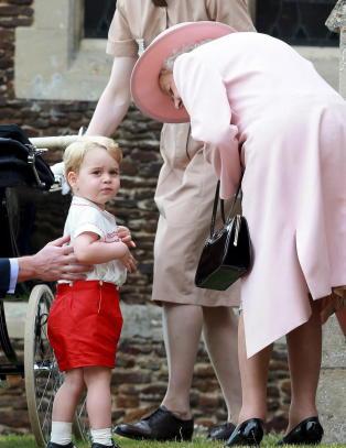 Prinsesse Charlotte d�pt - storebror stjal showet