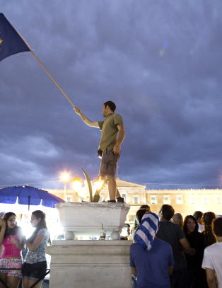 ESB fortsetter krisefinansieringen til Hellas