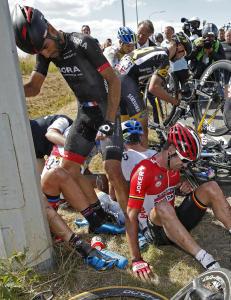 Tour-rytter: - Trodde noen hadde d�dd