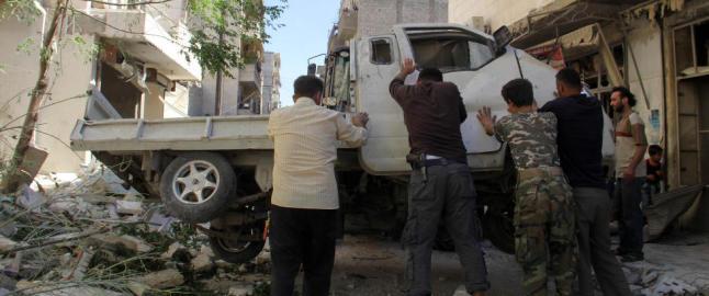 25 drept i selvmords�angrep i Aleppo