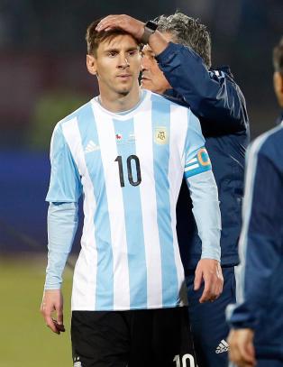 Argentinas store frykt - tror Messi vurderer pause fra landslaget