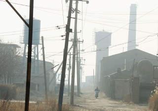HELVETE: Reuters refererer til landsbyen som et �isolert helvete�. Foto: Scanpix/Reuters
