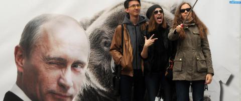 Russisk alarm: - En kul selfie kan koste deg livet