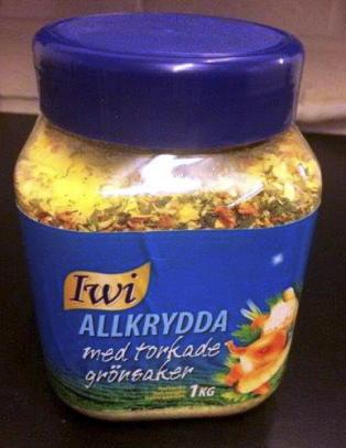 Salmonella-funn i svenske krydderblandinger
