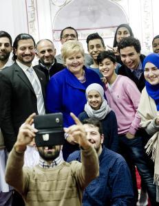 Ber�ringsangsten overfor islam