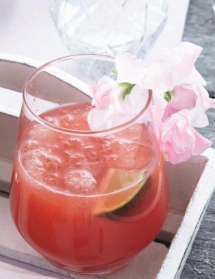Tre deilige drinker med ingef�r, lime og mynte