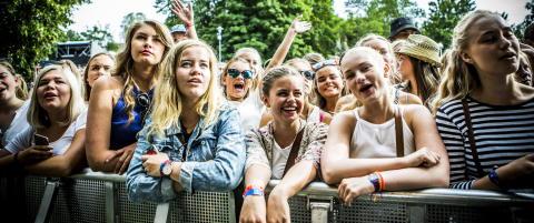 Kj�lte ned festivalpublikummet med arktisk pop