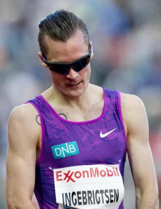 Ingebrigtsen skuffet p� 1500 meter i Stockholm