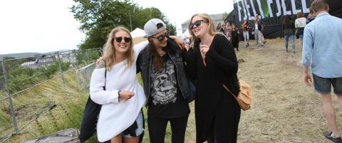 Fire Slottsfjell-konserter avlyst p� grunn av vinden