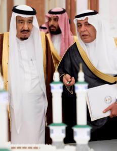 Opprop fra 100 000 franskmenn mot Salman av Saudi-Arabia og hans 1000 f�lgesvenner