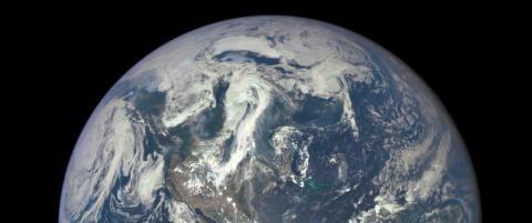 Slik ser jorda ut fra 1,6 millioner kilometer unna