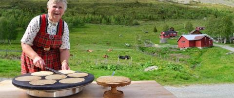 P� Uls�kst�len i Hallingdal serveres bare ekte varer med lange tradisjoner