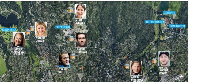 16 OL-gull og 47 VM-gull: Er dette verdens sprekeste nabolag?