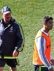 Benitez hyller Ronaldo: - Derfor er han best i verden