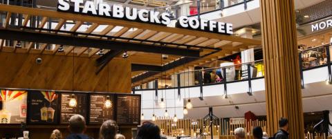 Starbucks har ikke tatt av i Norge