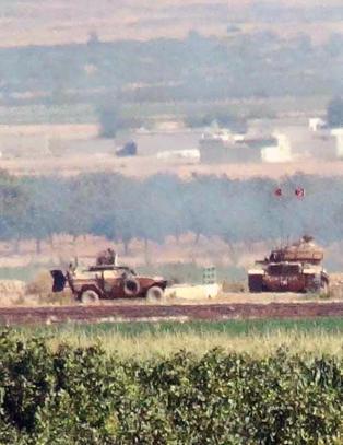 Tyrkiske fly angriper m�l i Syria