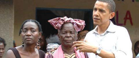 Obama reiser til et Afrika USA har mistet til Kina