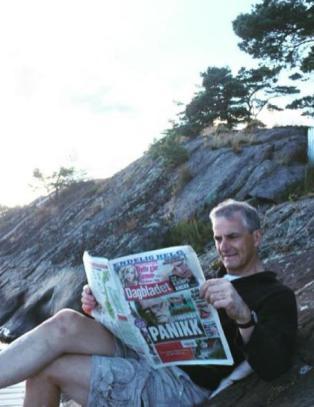- Ser i Dagbladet at Sandberg mener jeg har panikk, sitter og kjenner etter, f�r ikke den f�lelsen...
