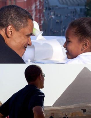 Se bildene fra Obamas 50 land. Danset da han var i Norge