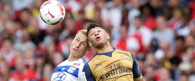 Ulrik (19) fikk tillit fra start da Lyon ble slaktet av Arsenal