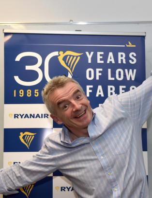 Kraftig hopp for Ryanair