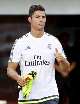 United p� desperat jakt etter stjernespiller, men   Ronaldo glipper