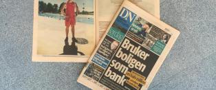 Slik jukset Dagens N�ringsliv-journalisten