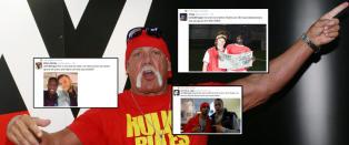 Hogan i tr�bbel etter rasistiske kommentarer. �Premier League�-stjerner viser st�tte