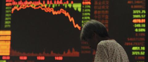 B�rsene i Kina fortsetter � stupe