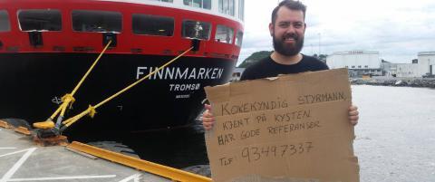 Lars Morten (34) nekter � v�re arbeidsledig - la ut jobbs�knad p� Facebook
