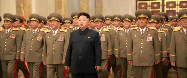 Kim g�r i krigen mot Koreas Robin Hood