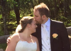 Lene og Terjes gavebord ble robbet  under bryllupstale