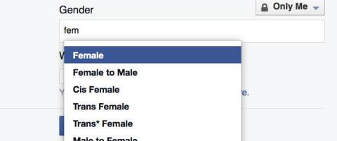 Svenskene kan velge mellom 70 ulike kj�nnsidentiteter p� Facebook. I Norge har vi bare to