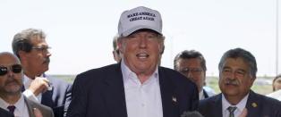 Trump skyter fart i ny m�ling. Leder klart
