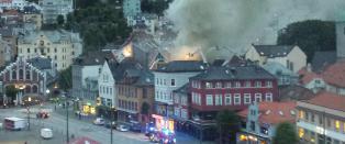 SISTE: Brannen i Bergen under kontroll