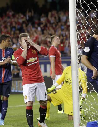 United avsluttet USA-turneen med tap mot PSG