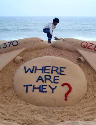 Koffert funnet ved vrakrester i Indiahavet