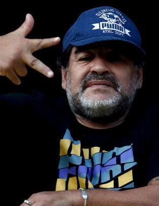 Hemmelighetsfull Maradona: - Jeg vil veldig gjerne bli en del av FIFA