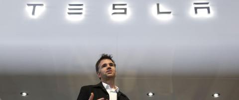 Snart f�r vi se nye Tesla model 3