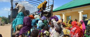 46 barn reddet fra Boko Haram denne uka