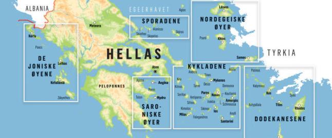 Her er guiden til nordmenns sommerferieland nummer �n