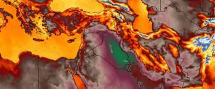 Et av verdens varmeste steder registrerte vanvittige tempe�raturer. Og det blir bare verre
