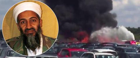 Flyet som krasjet i England tilh�rte Bin Laden-familien. Saudi-Arabia kondolerer
